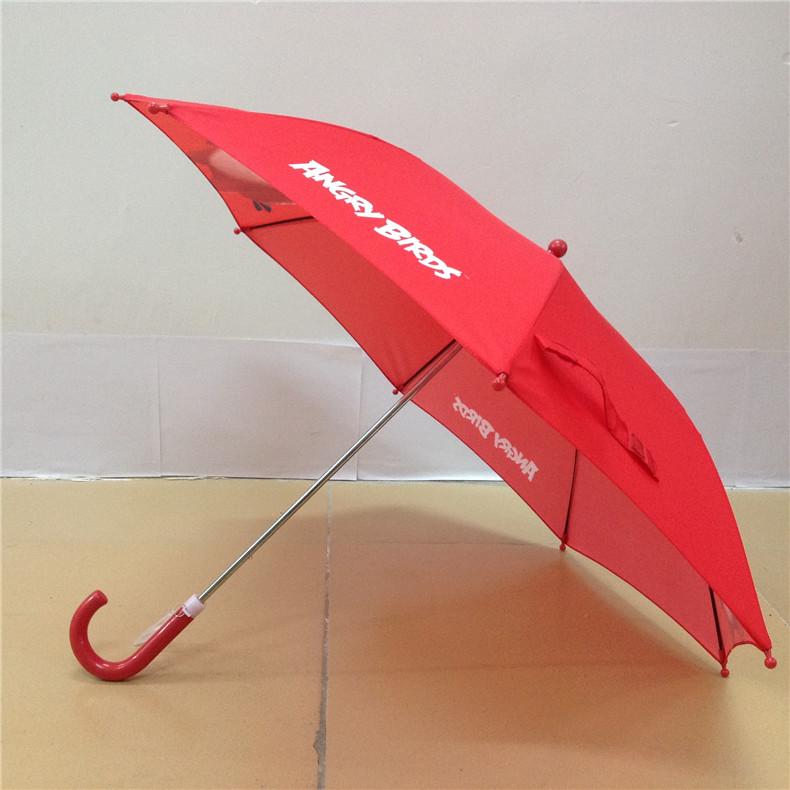 愤怒的小鸟儿童雨伞