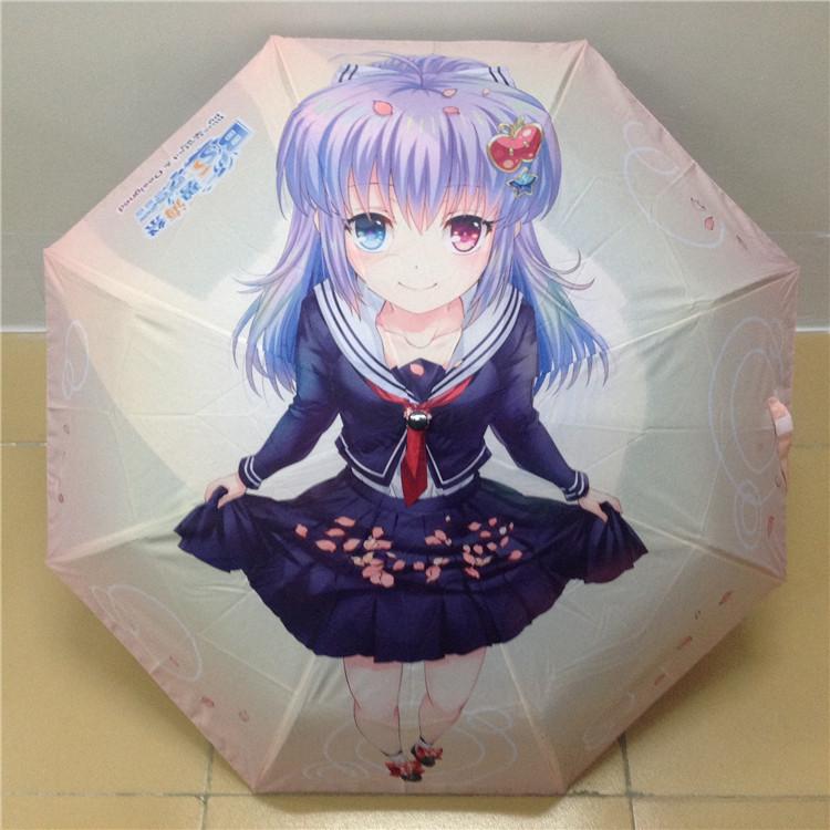 个性创意折叠双层伞