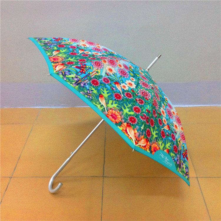 23寸热转印花雨伞