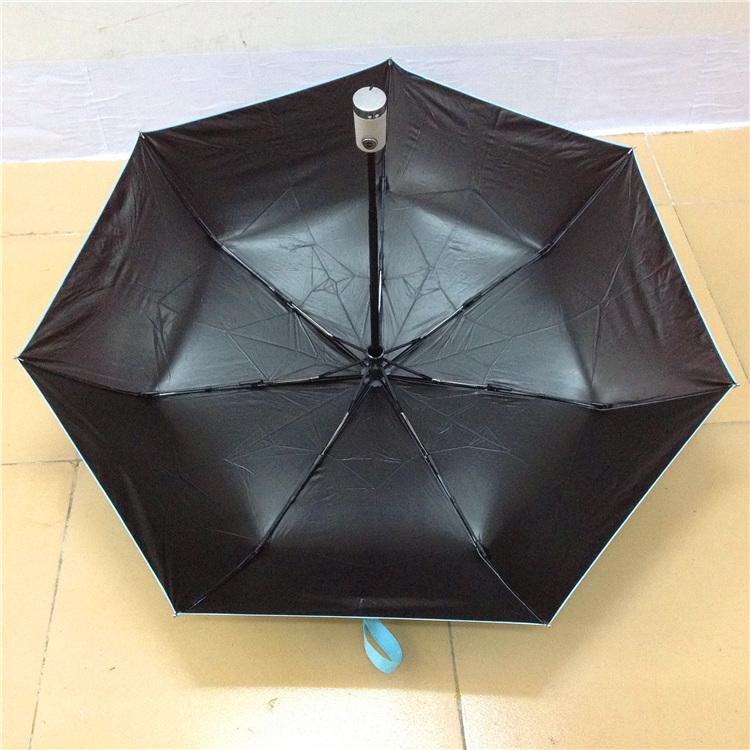 全自动防紫外线黑胶伞
