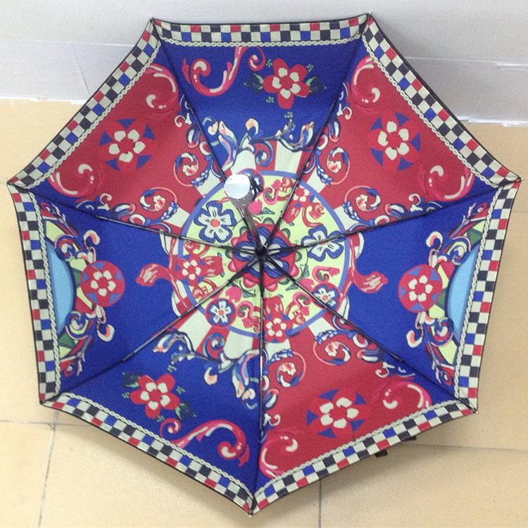 防紫外线双层雨伞