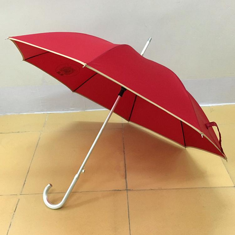 包边直杆广告雨伞