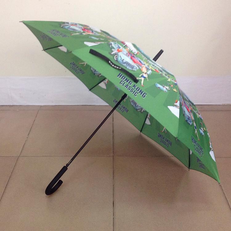 23寸纤维骨品牌雨伞