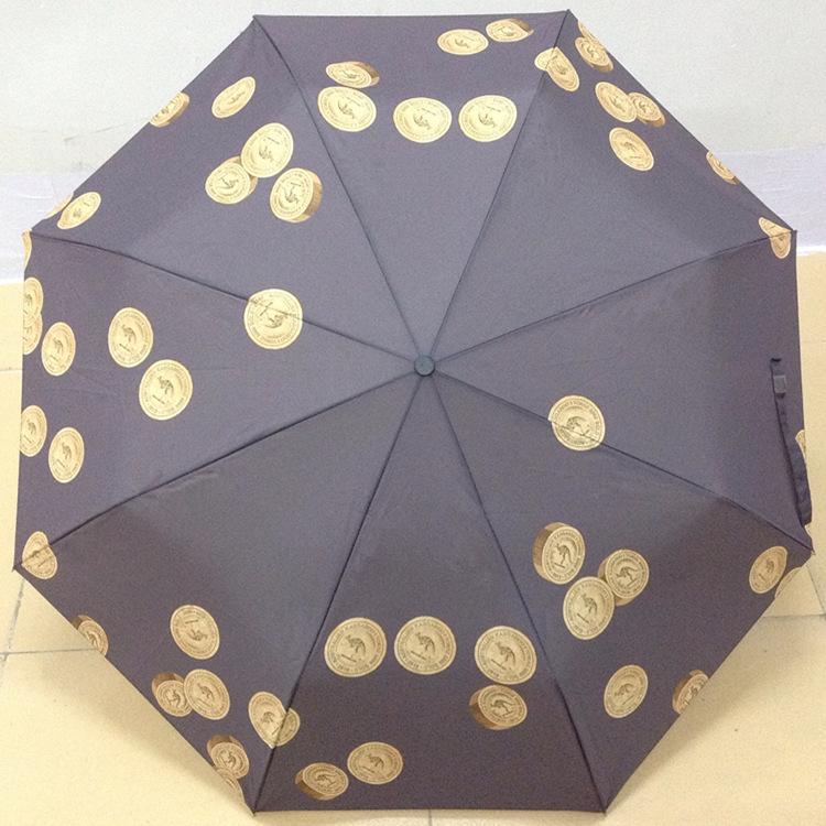 折叠数码印花雨伞