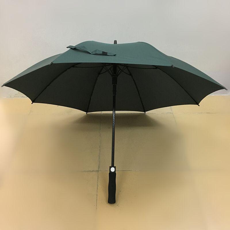 23寸全纤维直杆长伞