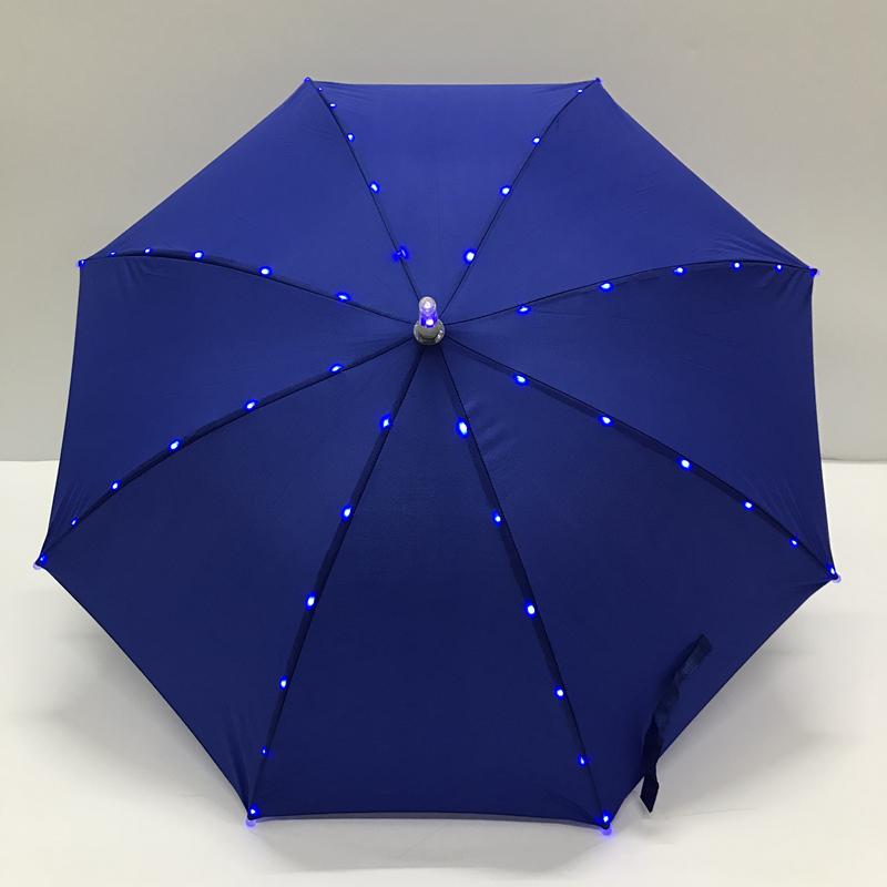 灯光安全伞